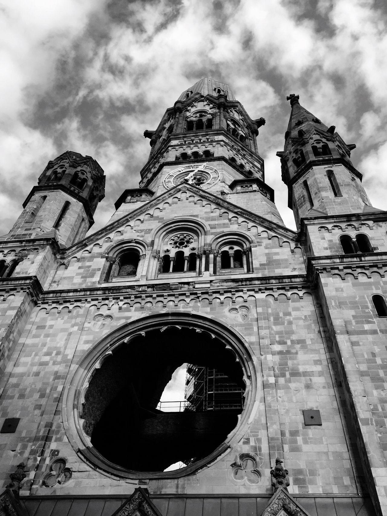 Kaiser Wilhelm Memorial Church, Berlin Hello World Berlin Kaiserwilhelmgedächtniskirche First Eyeem Photo Iphone6
