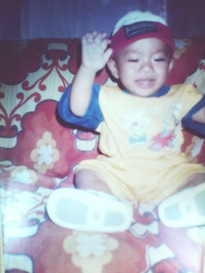 my throwback picture 😆👶