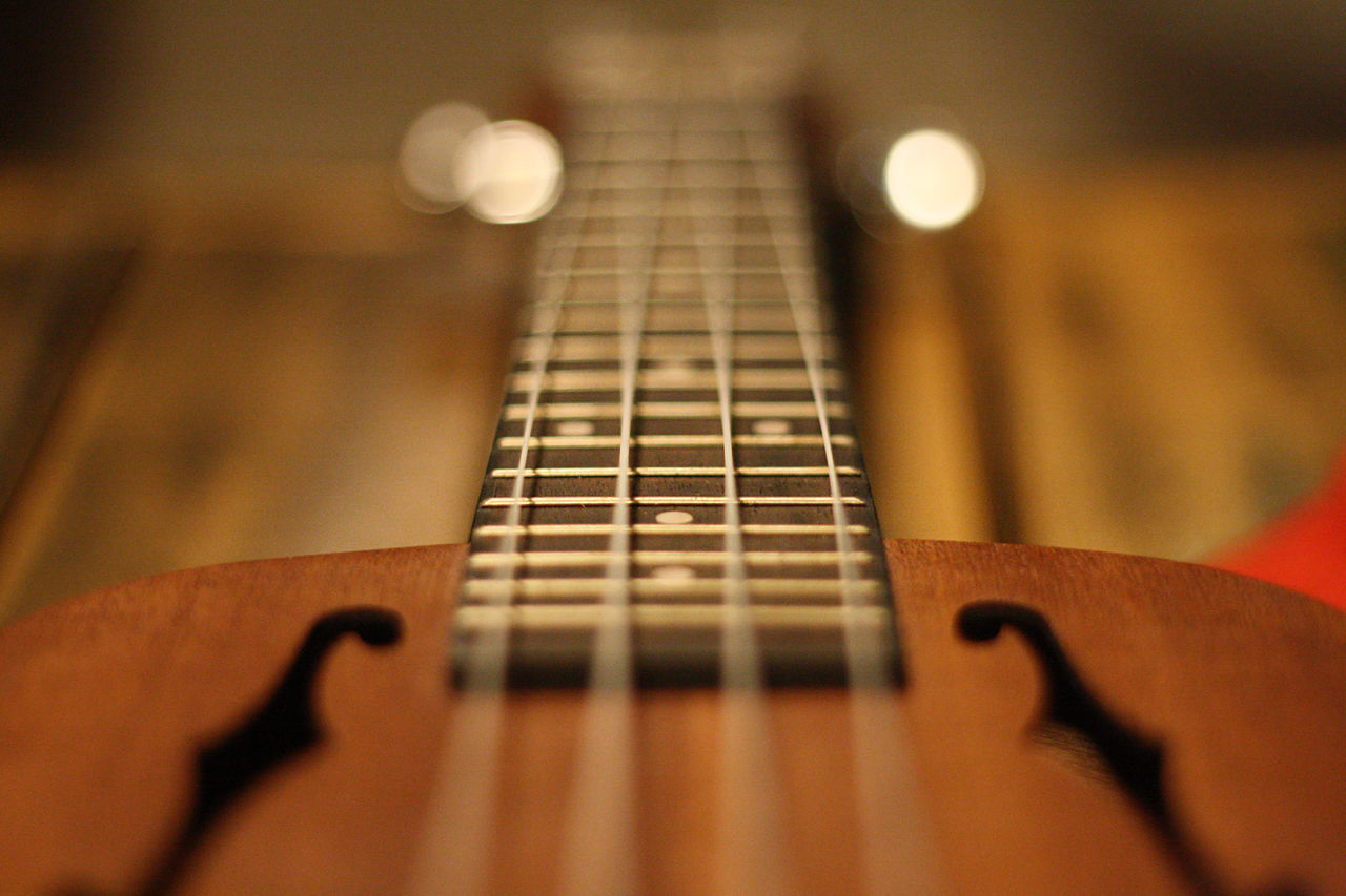Arts Culture And Entertainment Close-up Four Strings Indoors  Music Music Musical Instrument Musical Instrument String Musical Instruments Selective Focus String Instrument Strings Strum Ukelele