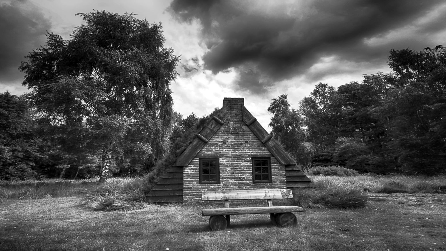 Sod House Turf Houses On The Way Travel Destinations The Ville Non-urban Scene Black & White Monochrome Bw_collection Blackandwhite Ostfriesland Tranquility