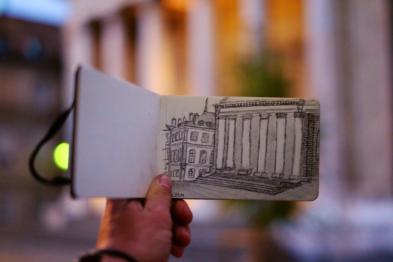 Beautiful stock photos of sketch, Architecture, Book, Building Exterior, Built Structure