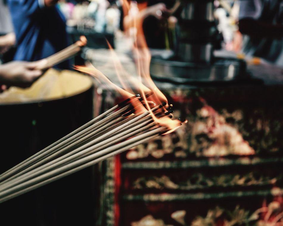 Beautiful stock photos of prayer, Bangkok, Chinese Culture, Close-Up, Day