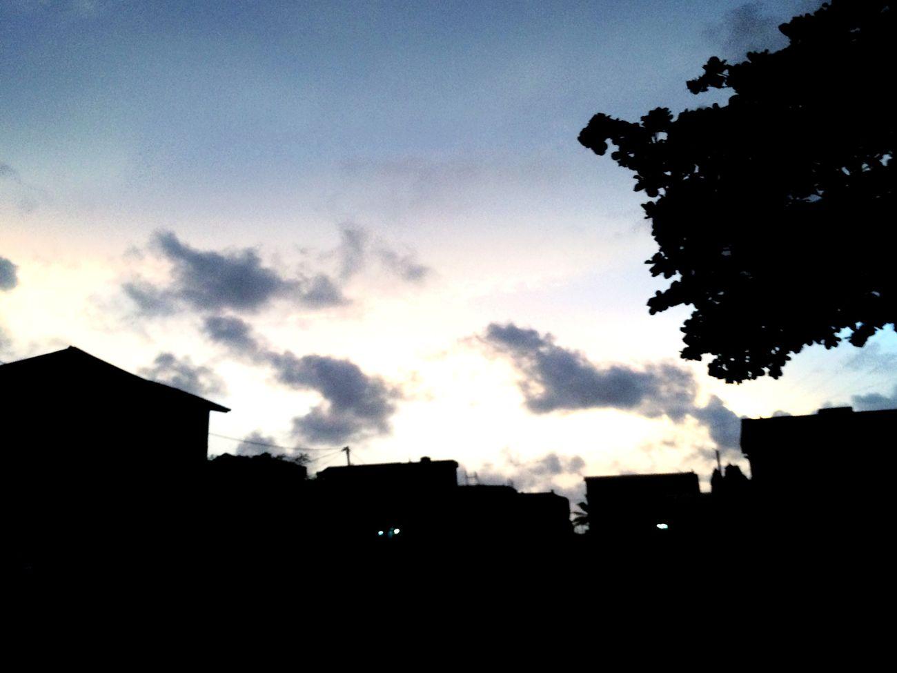 Its 19.00H in Cotonou, Benin Republic. Pulchritude cloud First Eyeem Photo