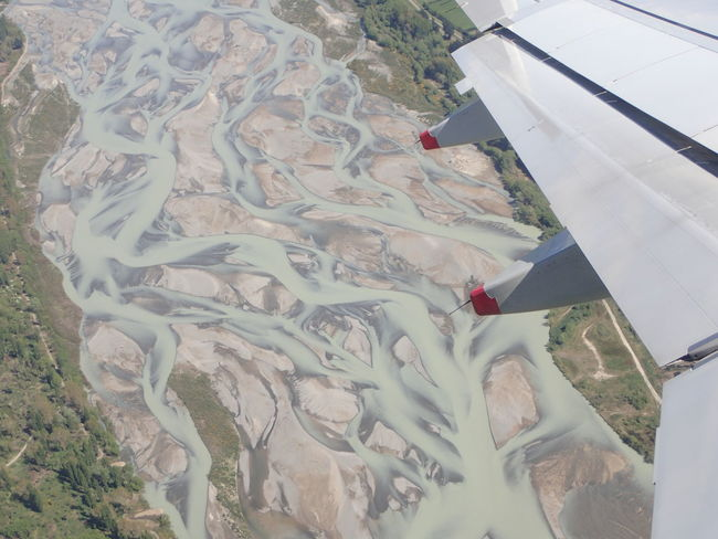 Aerial View Airplane Airplane Wing Beauty In Nature Flying High Angle View Landscape Rivers Scenics Travel