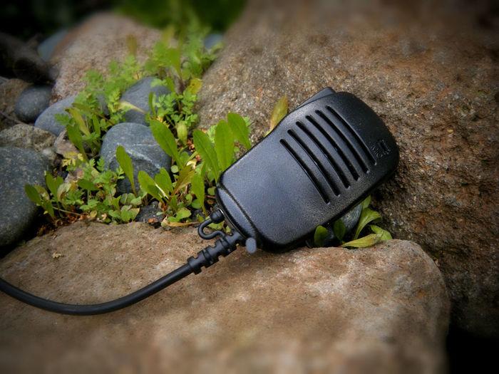 2-way radio mic Taking Photos CB Radio Communication Mic Push To Talk Old School Technology Rocks 2 Way Radio