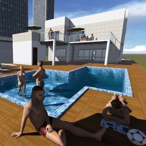 MaqueteVirtual Lumion3D Revit  ArquiteturaNaVeia BoaNoite by @suxav_