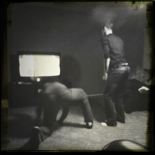 Grown ass men playing the Kinect