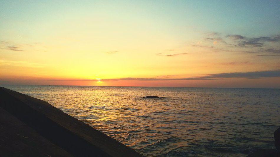 Sunset Enjoyingtheview Thesea Enjoying Life Algiers