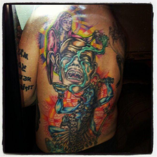 Portland TattoosbySageRicci Mybacktattoo Tattoos