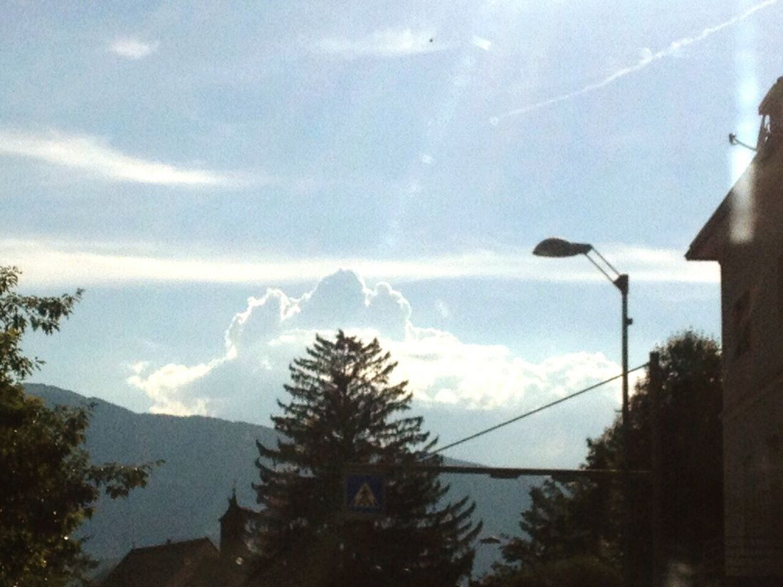 Sky And Clouds Funny Three Peaks Drei Zinnen Brunico