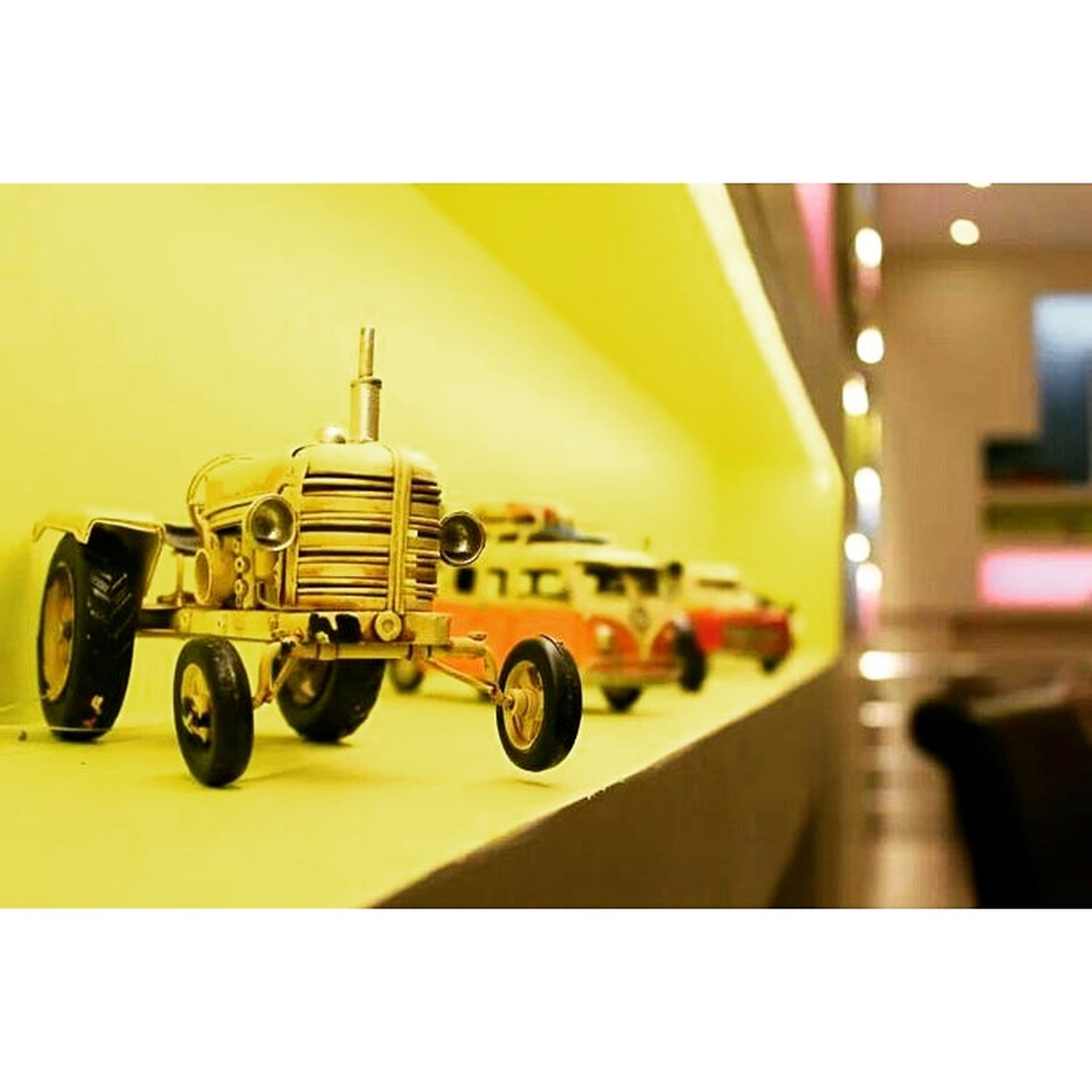 Sweet Cars Yellow Pink #red