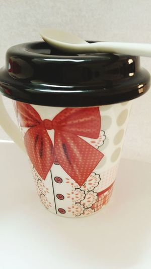 My New Cup Gorgeous Love It Red Black ♥ ❤