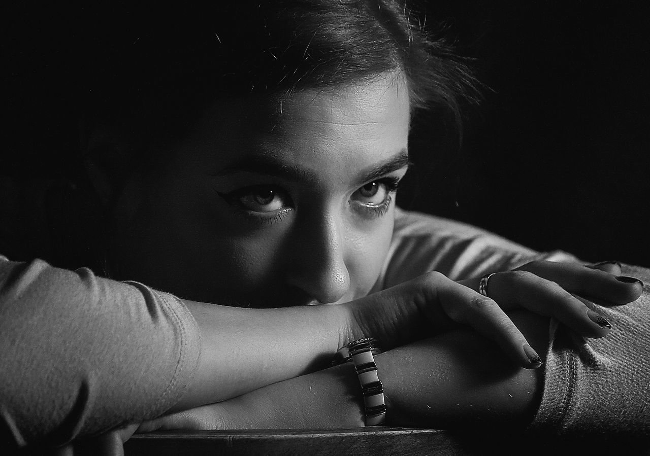 When you are tired of infinite introspection, call me. Russia Lifestyles Portrait Portrait Photography Bw_ Collection Black Background Studio Shot Blackandwhite EyeEm Best Shots - Black + White Black & White EyeEm Best Shots Portraits Black And White Blackandwhite Photography EyeEm Bnw