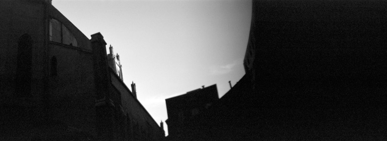 Architecture Silhouette Adox Silvermax 100 Koduckgirl Sprocket Rocket Panorama