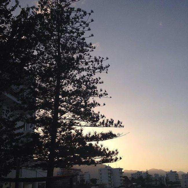 Sunset Gunbatimi Girne Kyrenia Cyprus Kibris Domehotel Besparmak Besparmakdaglari