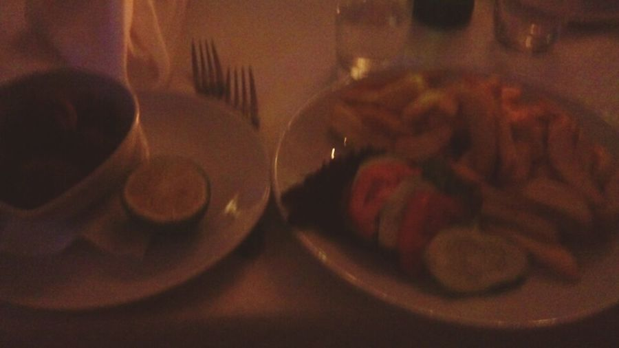 Greek Food . dining with friends