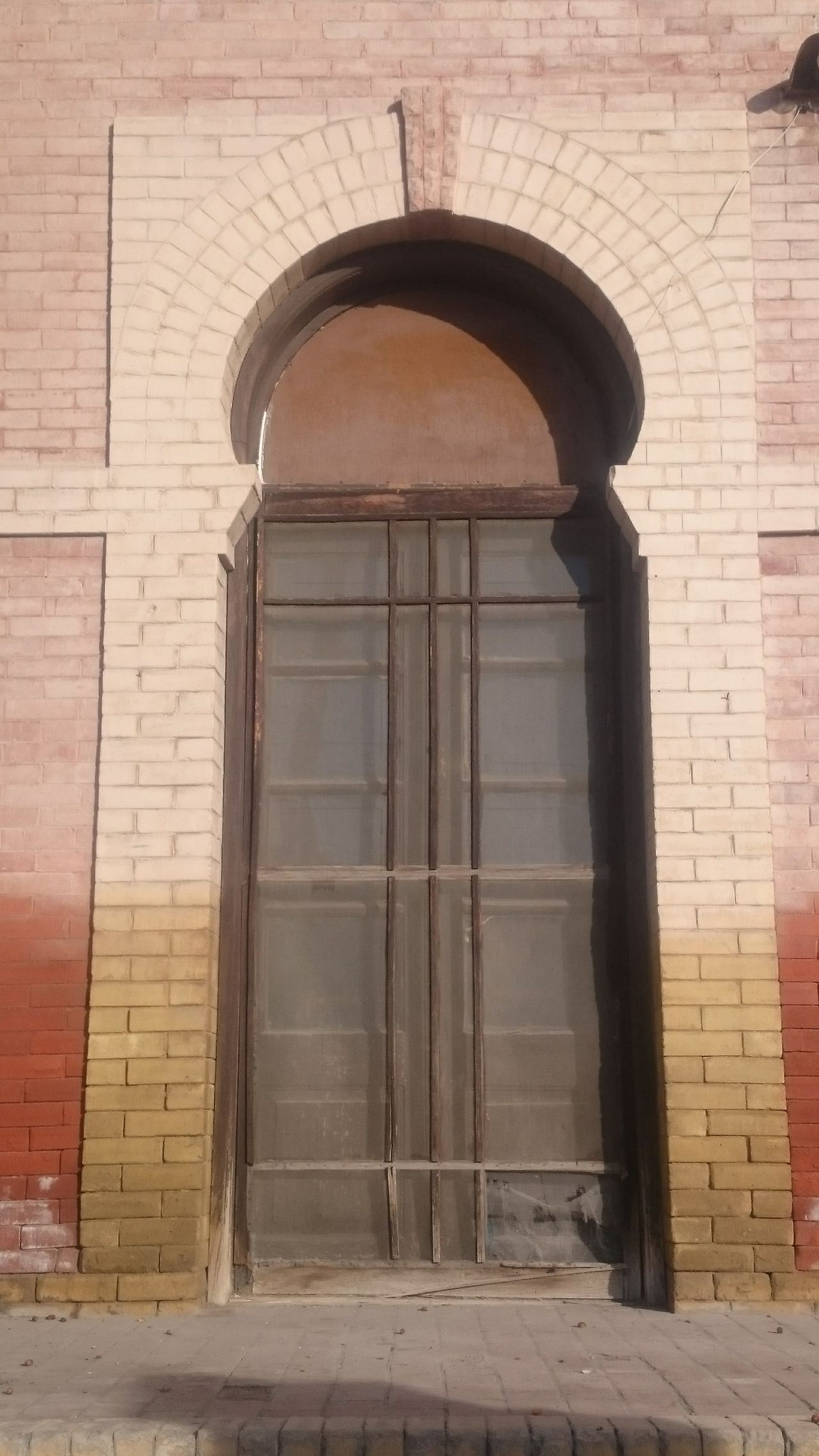 Architecture Building Exterior Arch Built Structure Door No People Entrance Outdoors Day Arabic Architecture Arab Architecture In Mexico Bazaar San Pedro De Las Colonias, Coah. Comarca Lagunera Architecture