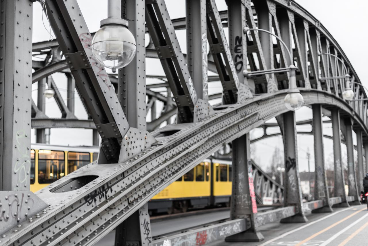 transportation, architecture, bridge - man made structure, built structure, connection, rail transportation, no people, day, outdoors, city