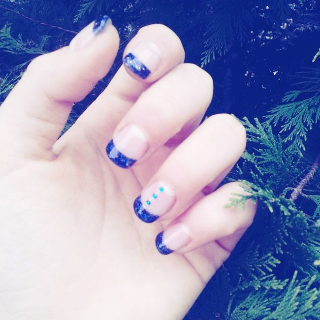 My new naails ?❤✌