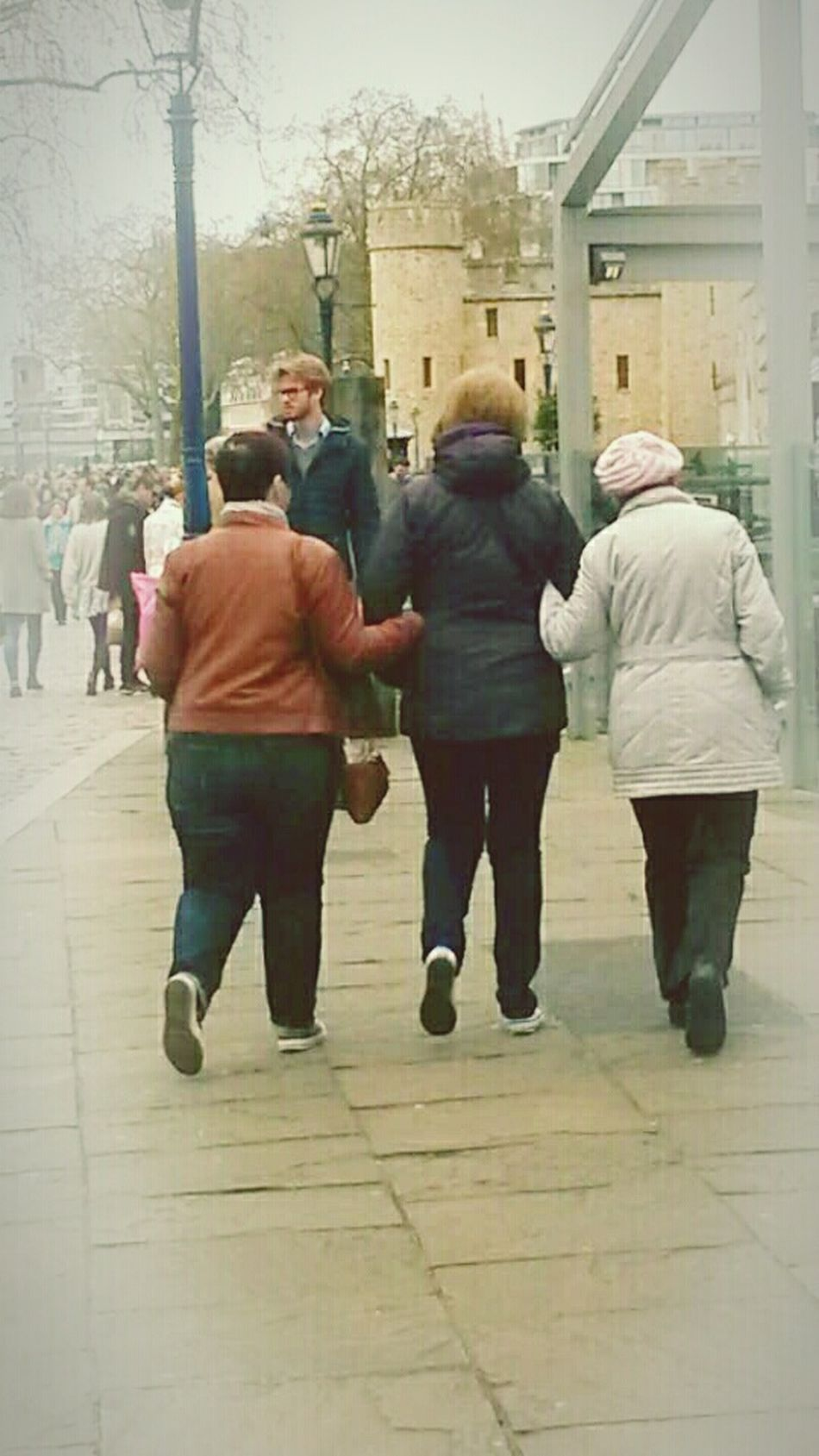 I am the watcher Family Togetherness Unity Women Women Around The World Time Together Full Length City City Life Rear View Walking Friendship People Motion Outdoors Warm Clothing Adults Only Sightseing Seeing The Sights