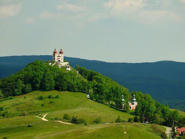 Calvary Calvary Calvari Kalvarija Calvario Calvary Chapel Church Sky BanskáŠtiavnica Banská štiavnica Slovakia Calvaria