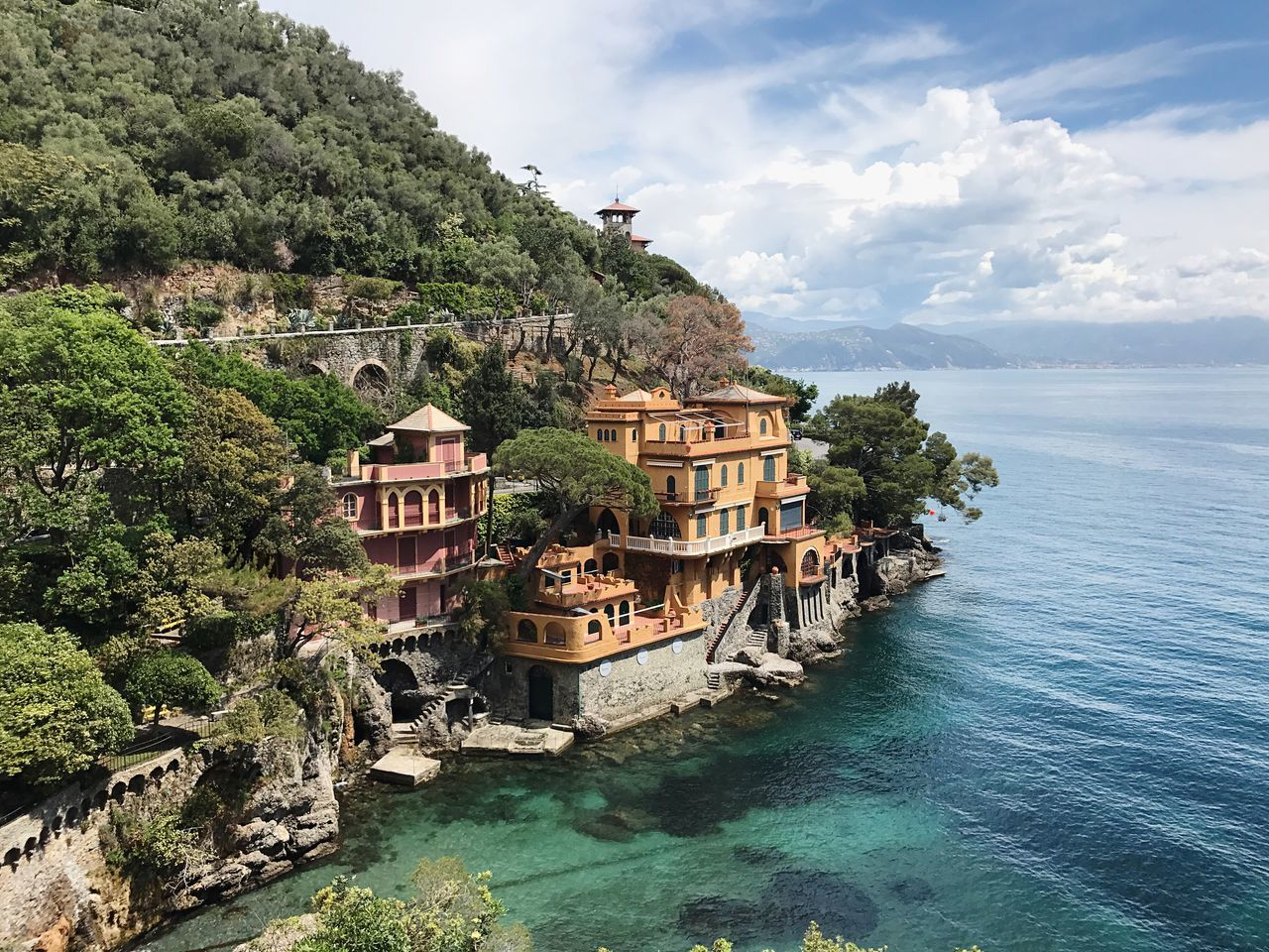Neighborhood Map Water Nature Sky Waterfront Scenics Day Nautical Vessel Tree Beauty In Nature Architecture Tranquility Outdoors Cloud - Sky No People Sea Travel Destinations Mountain Building Exterior Riviera Italian Riviera