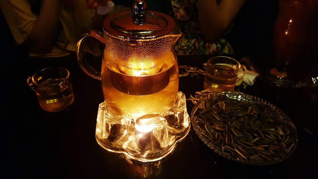 Beverages Melon Seeds Drinks Herbal Tea light and reflection Always Be Cozy