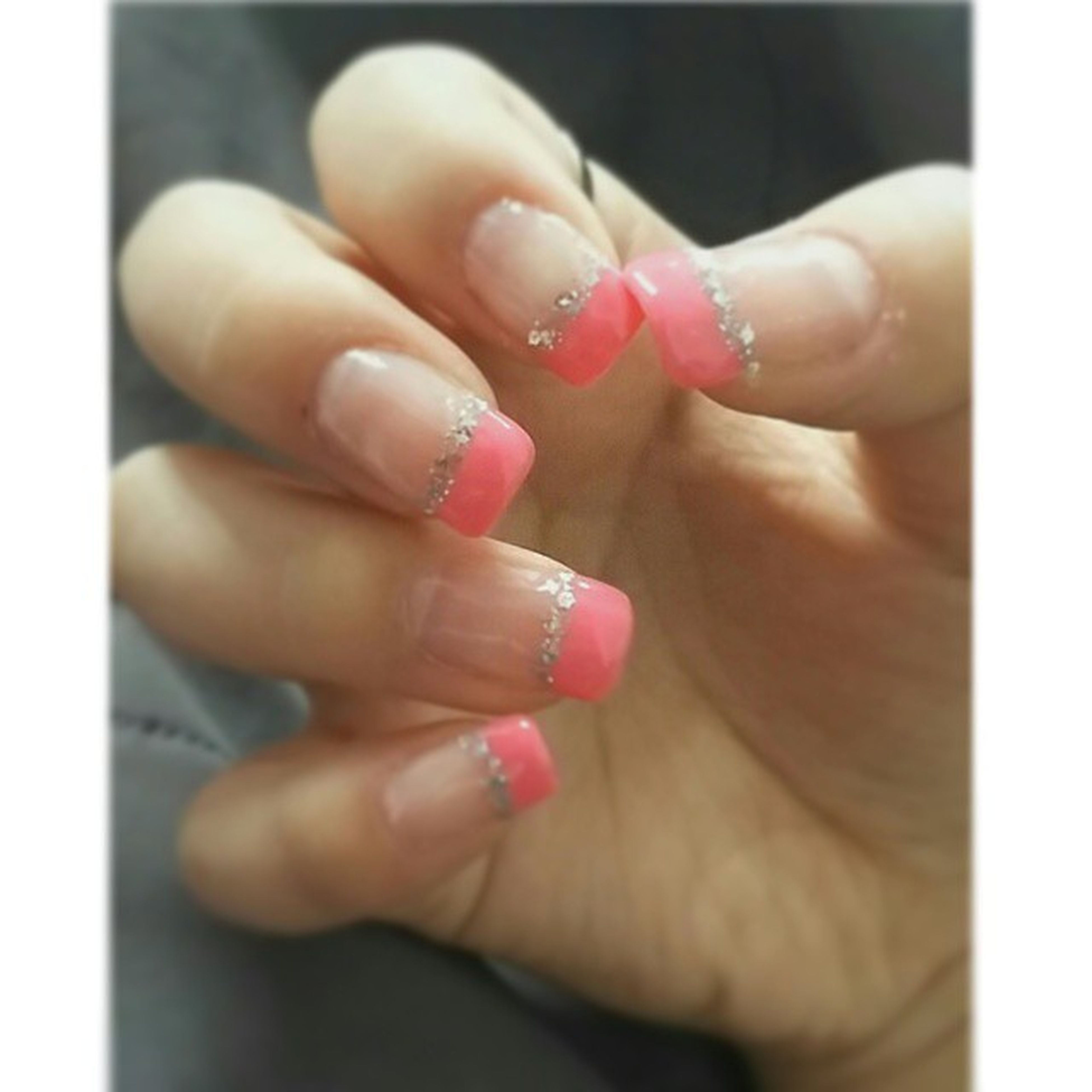 Newly done nails to welcome the spring~~ Nailart  Gelnail Prettynail Geltips