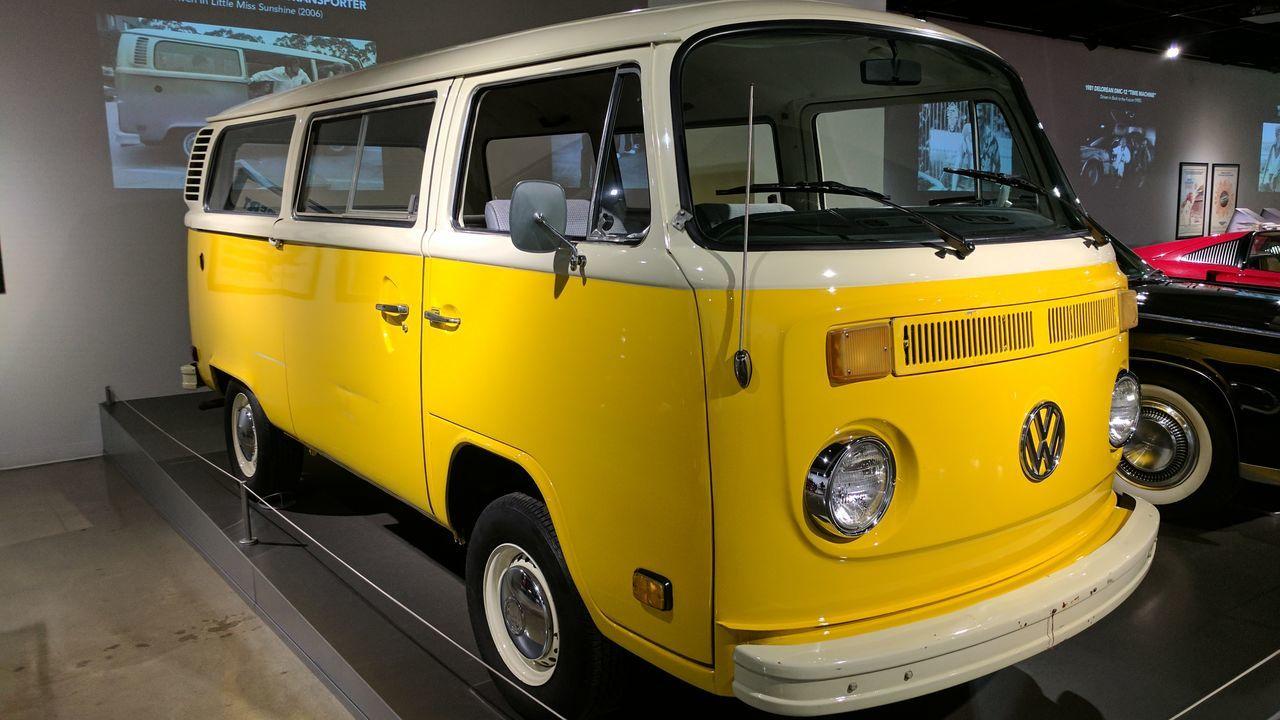 Yellow Transportation No People Day VW Bus Yellow Car Little Miss Sunshine Car