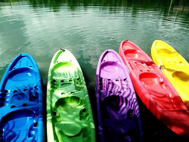Water High Angle View Reflection Vacations Lake Multi Colored Horizontal Outdoors No People Flip-flop Day Pedal Boat Snorkeling Color Splash Colors Of Life Colors Of Carnival Colors Of Autumn Color Photography Color Explosion Colorsplash Color Portrait Color Palette Colorful Colors Color