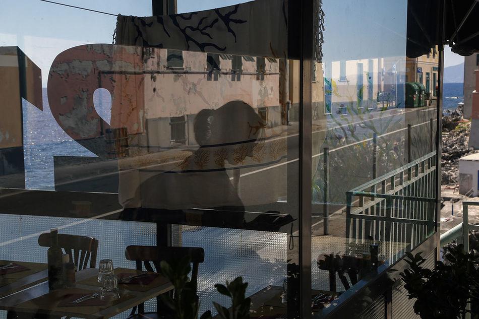 Genova Streetphotography Street Reflection Observecollective