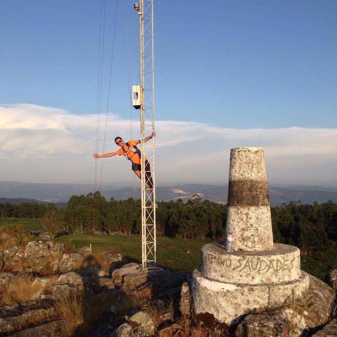 Trailrunning Cloud - Sky Ascis Braga Landscape Iphonephotography