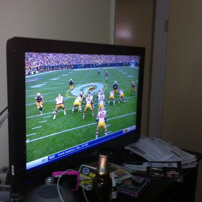 Watching the redskins vs packers game Redskin Nation