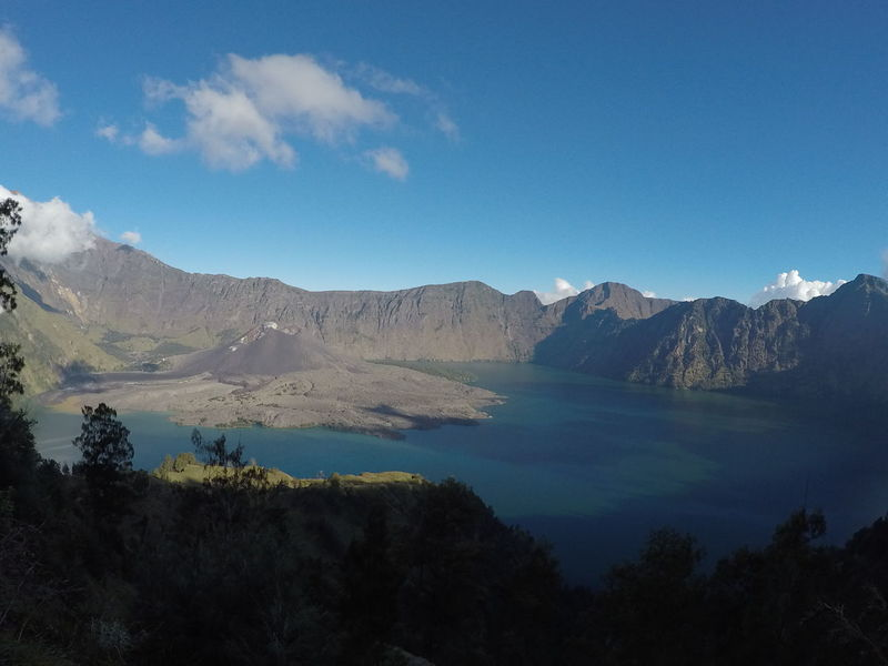 Rinjani Mountain, Lombok, Indonesia Agushariantophotography Beauty In Nature Day Forest Landscape Mountain Mountain Range Nature No People Outdoors Rinjani Mountain Scenics Segara Anak Lake Sky Tranquility Tree