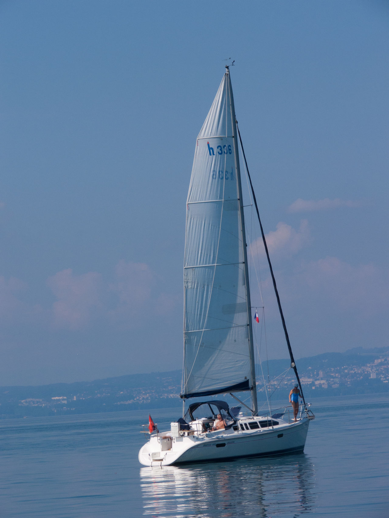 lake leman,haute savoie,france Activity Aquatic Sport Competitive Sport Day Extreme Sports Horizon Over Water Nautical Vessel Outdoors People Piloting Regatta Sailboat Sailing Sailing Ship Sea Sky Sport Sports Race Transportation Travel Water Yachting