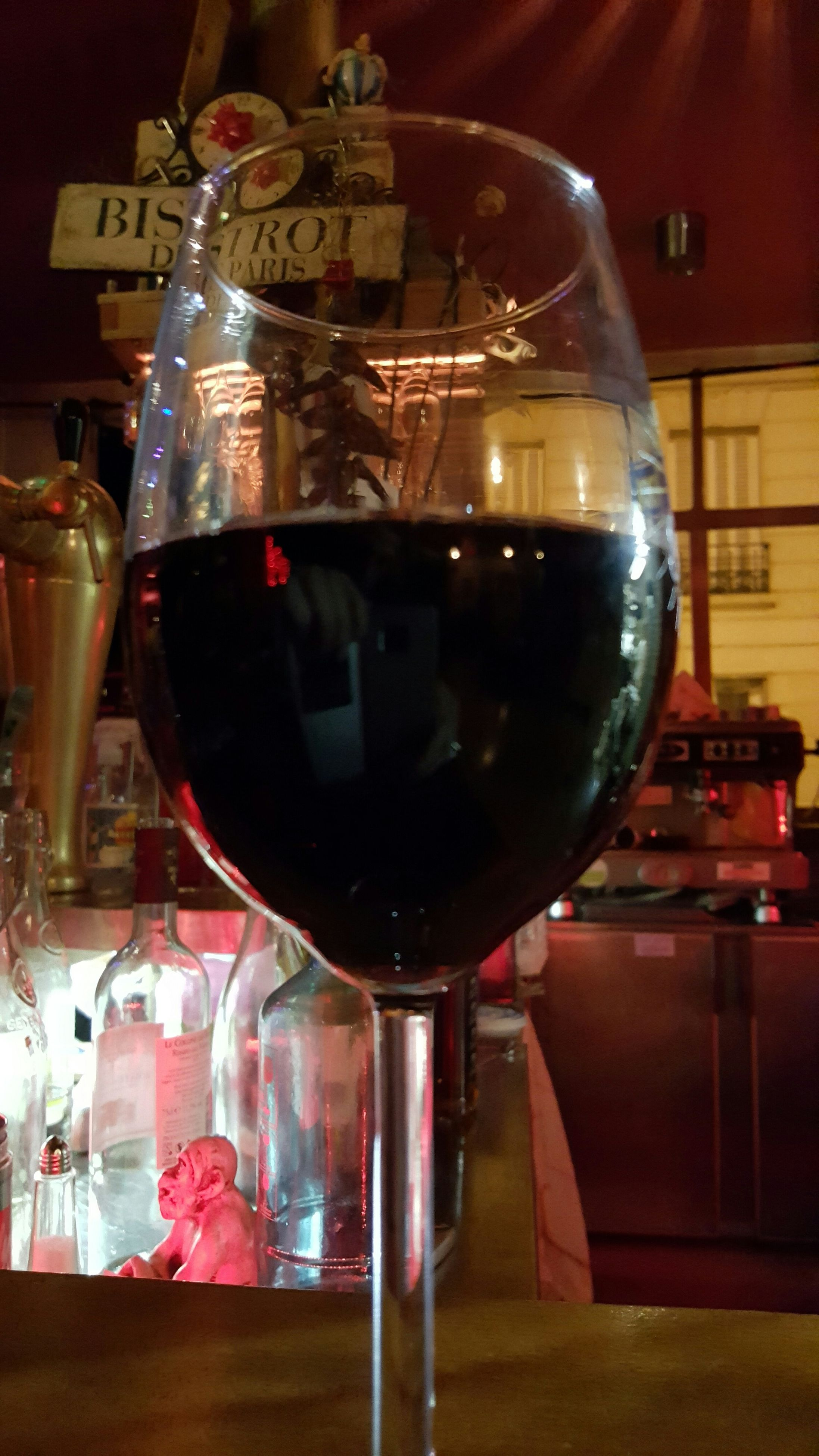 food and drink, indoors, drink, table, refreshment, drinking glass, freshness, restaurant, alcohol, still life, wineglass, wine, close-up, food, incidental people, glass - material, spoon, focus on foreground, wine glass