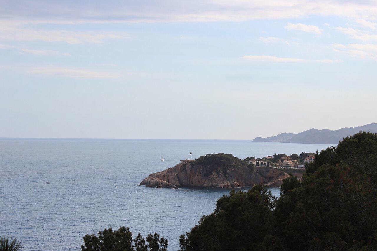 The Great Outdoors - 2017 EyeEm Awards Costa Brava Gironamenamora Sea Nature Water Tranquility Scenics Beauty In Nature Horizon Over Water Sky Tranquil Scene No People Outdoors Day Scenery Tree
