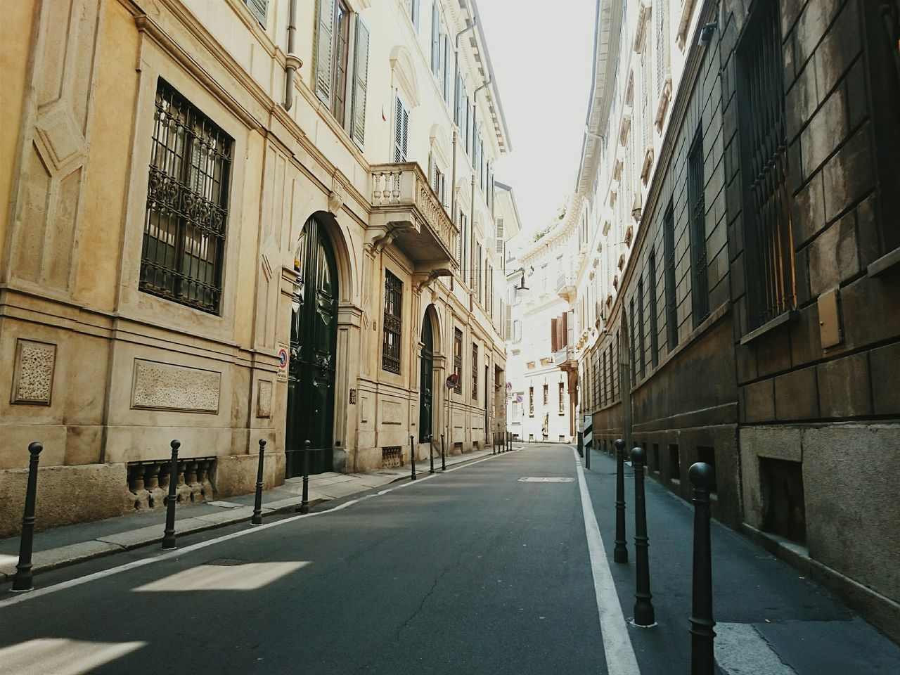 Beautiful stock photos of milan, Absence, Arch, Architecture, Bollard