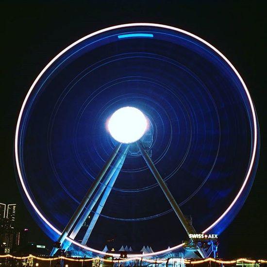 Hongkongcentral Minolta3570f35 Minoltax700 Ferris Wheels Kodak400 Mind  摩天輪 Films Hkfilm 香港夜景 摩天輪 香港之眼 Kodak_photo