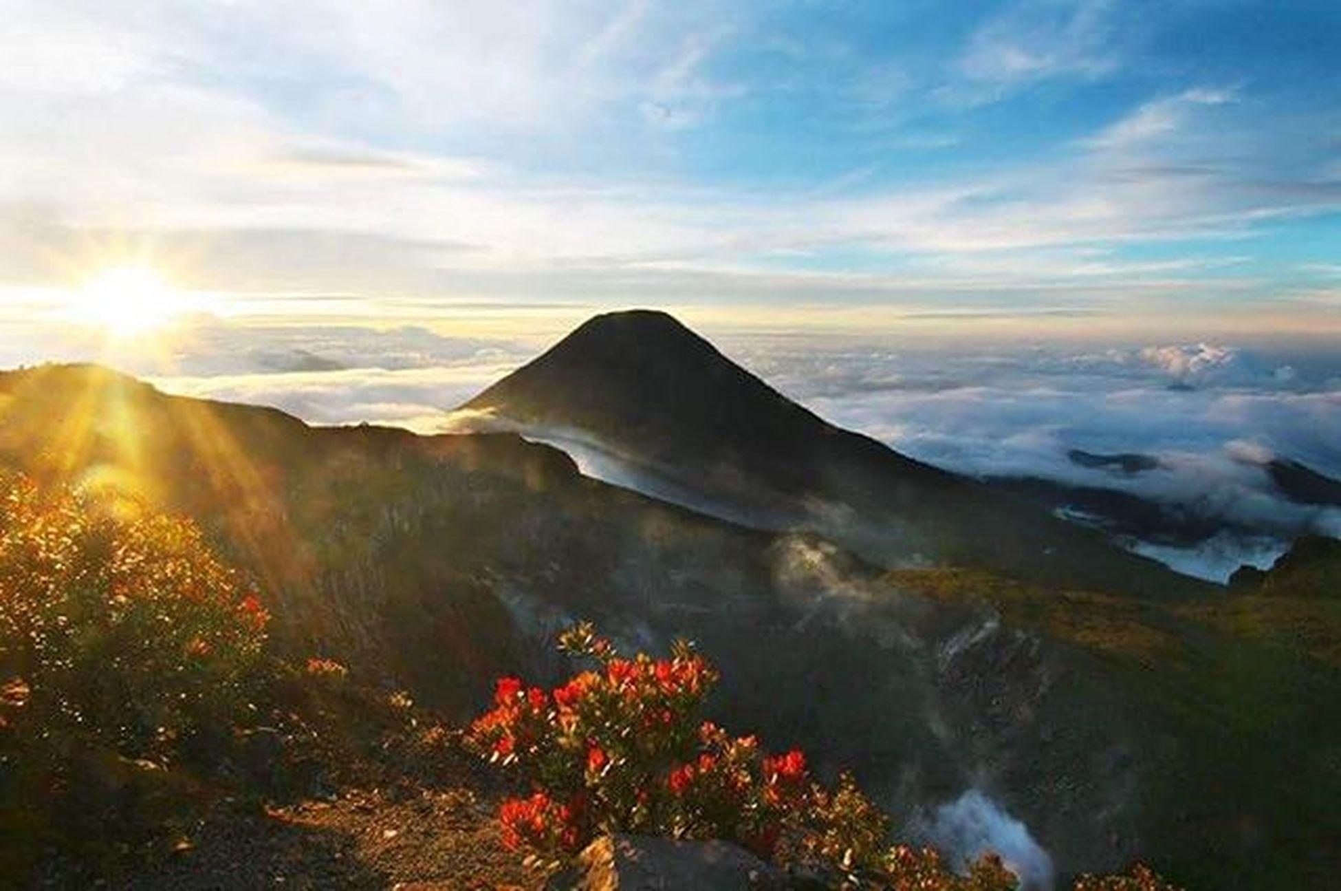 Menyesap senja Gede Pangrango Lombafototnggp2016 Gunung Gede Pangrango