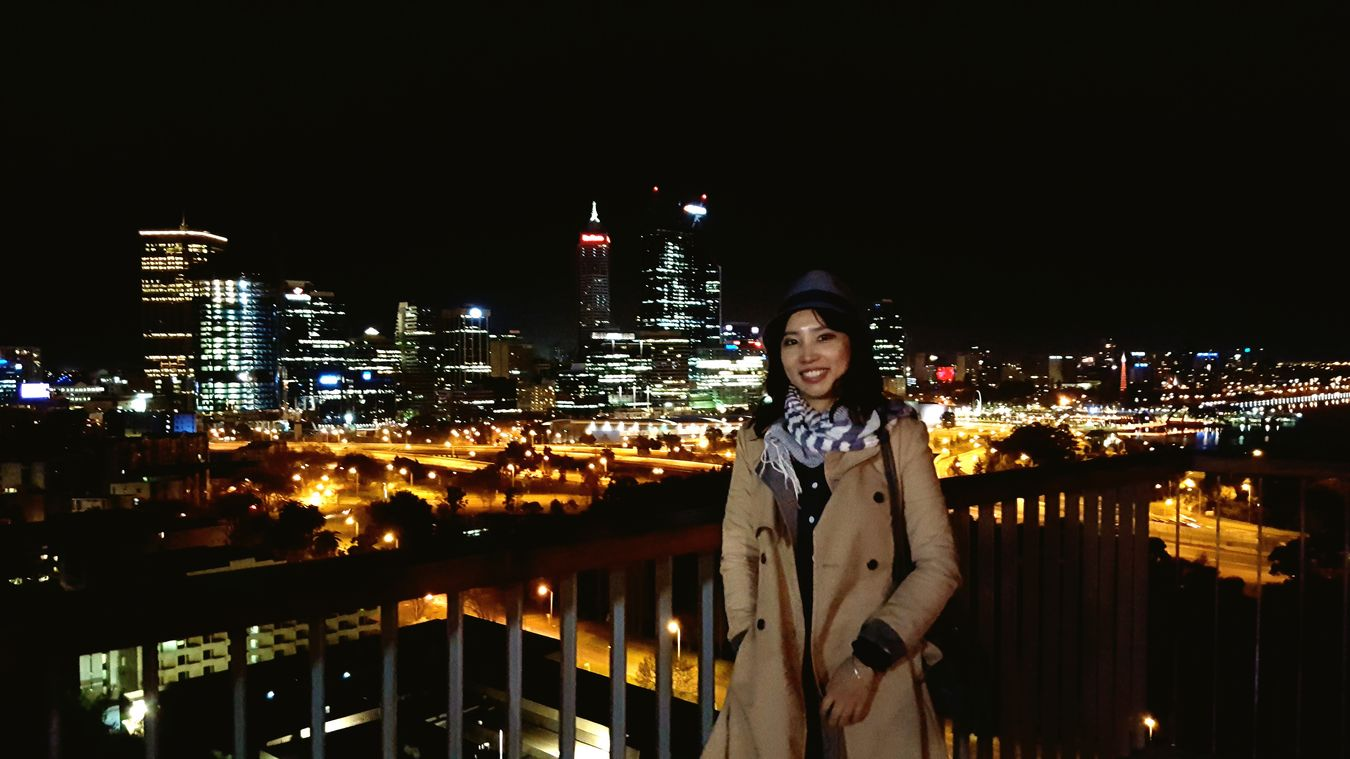 Perth Australia Kings Park And Botanical Garden Night View