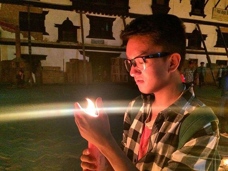 Basantapur Candlewalk Moments Earthquake2k72 Instamood Instaevening Rip In the name of departed souls!!!