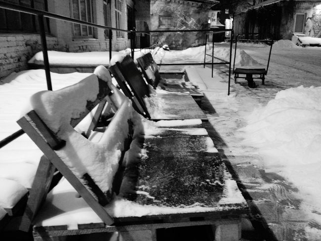 Black And White Blackandwhite Photography Whinter No People Snow Outdoors Day