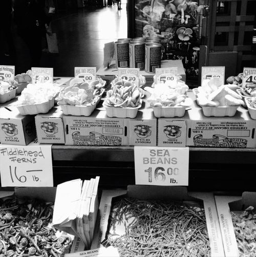 Mushrooms Farmers Market San Francisco Ferrybuilding Blackandwhite Photography