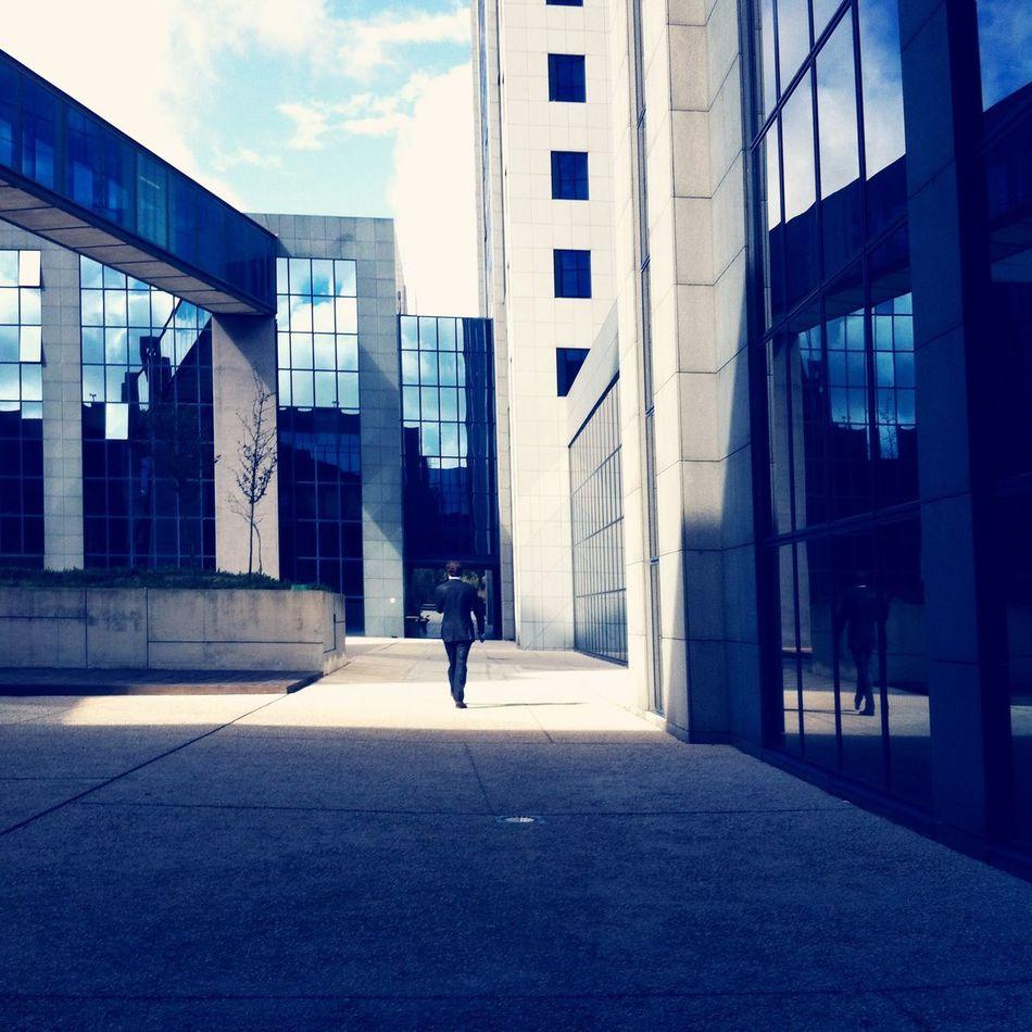 Geometric World Architecture Urban Geometry Light And Shadow