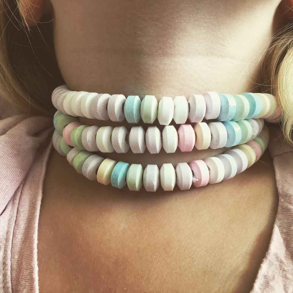 Multi Colored Colorful Necklace Candy Necklace Candy Childhood