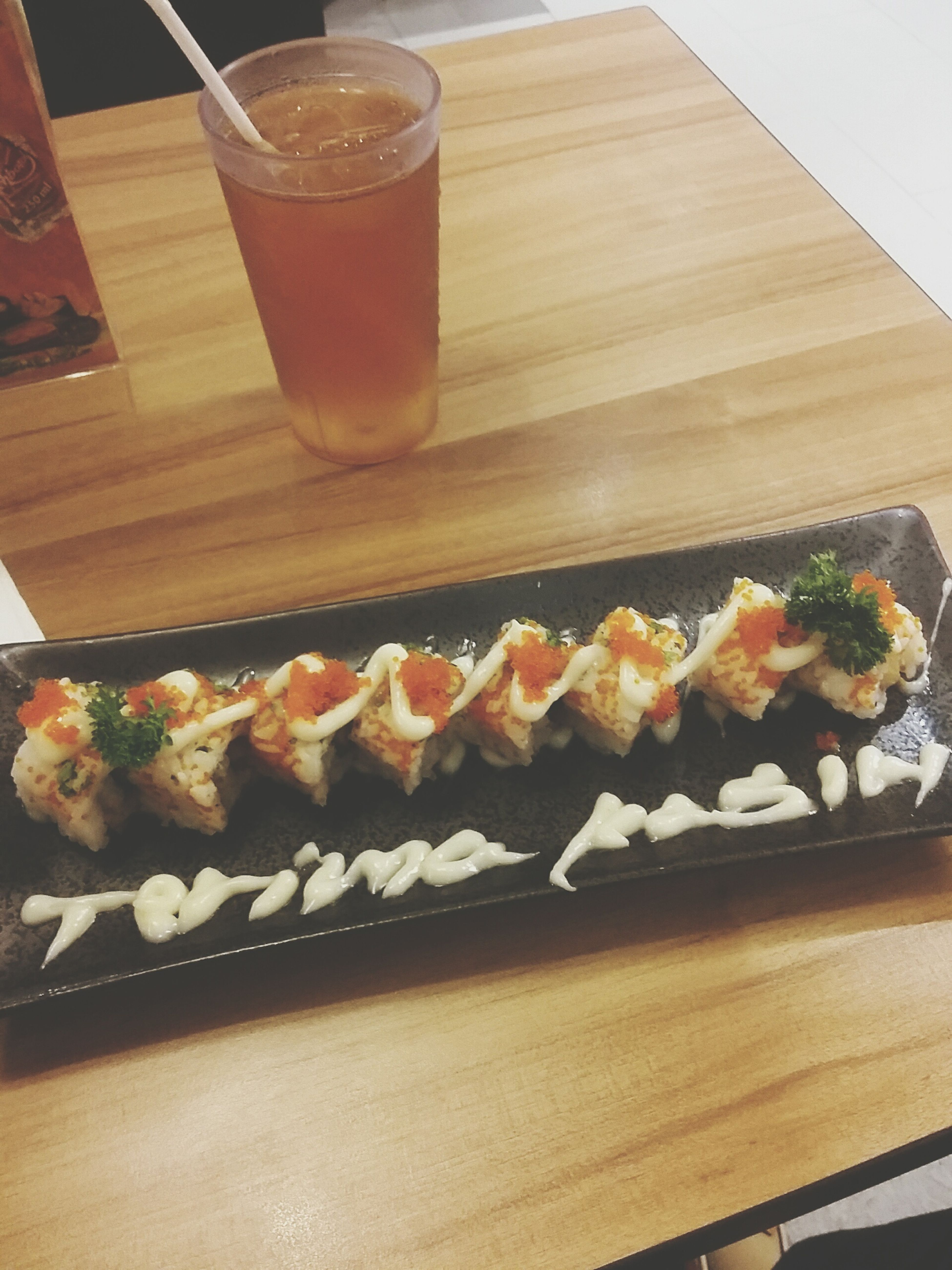 Spicy chicken roll