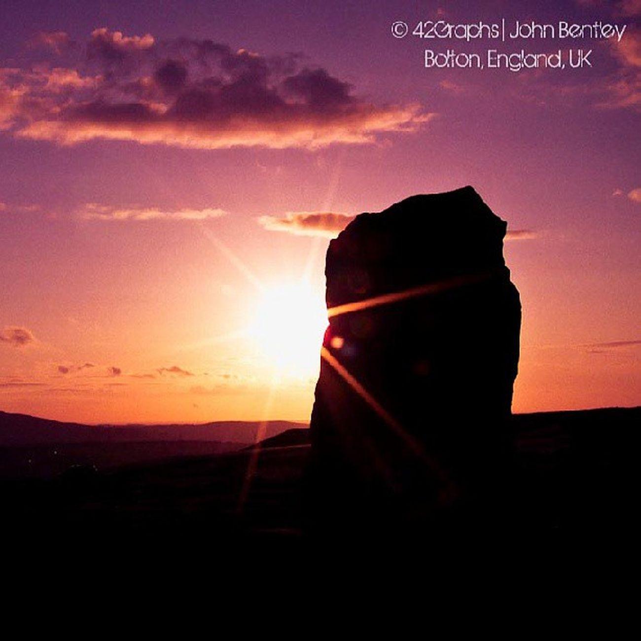 Standingstone Naturalflare Sunset Darwin lancashire haslingdon egerton northernlife lancashirelife landscapephotography