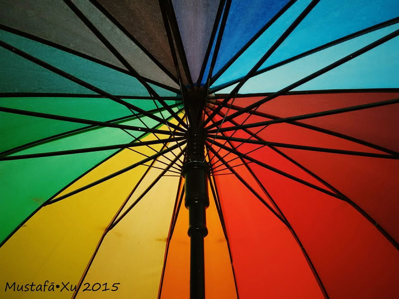 low angle view, no people, red, blue, day, clear sky, architecture, multi colored, outdoors, sky, close-up