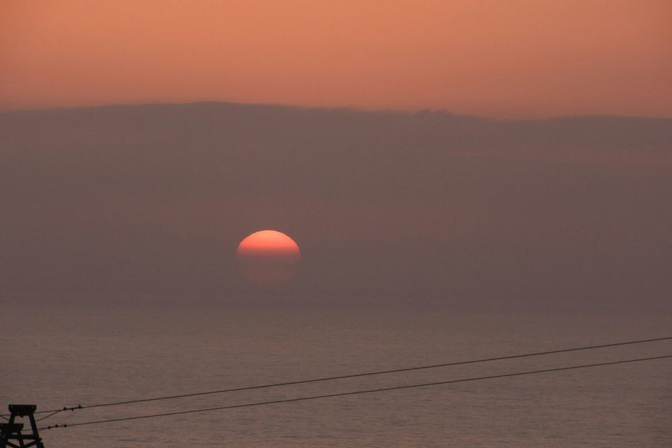 Sun Sunset Sun Landscape Outdoors Nature Travel Destinations Red No People Water Taking Pictures Taking Photos Calabriastateofmind Calabriadascoprire Calabria South Italy Tranquility Mare ❤ Horizon Over Water Sunset Silhouette